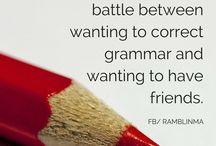Grammar shizzle