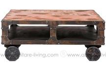 Kare Design - Style Factory / Vous aimez le style loft, l'ambiance métallique des vieilles usines, ... le style factory est pour vous
