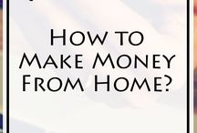How to Make Money From Home ? / You like the idea of Making Money from your own Home? How to Make Money from Home is a board where you'll find the Best Business advice, Creative ideas, and Examples of successfully built businesses. It's time you Start making Money from home. Like the Pin you like the most.