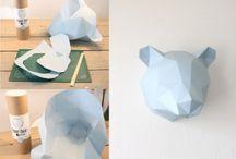 papieren dieren maken