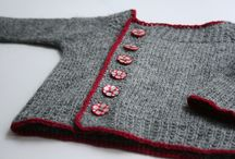 Knit baby jkt