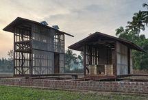Rifugio 'Hut to hut' di Rintala Eggertsson Architects - #India