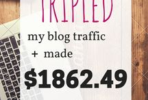 blogging income reports. / Do bloggers actually make money? Yup! And these blogging reports prove it.