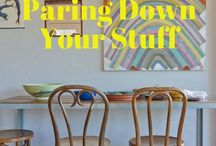 Tips for downsizing!