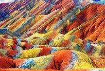 Crazy landscapes