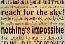 Sayings / by Tayla Dunn