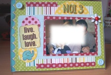 FRAMES / Scrapbooking project and other craft for frames