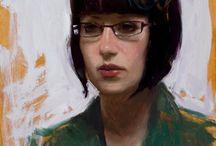1990 - Present Girls #2 / Portrait Painting of Women