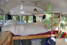 House bus interior