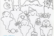 Free Halloween Embroidery patterns