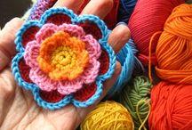 Horgolt virág (Crochet flowers)