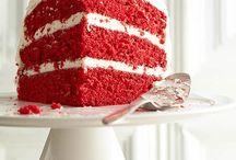 Red velvet cake / Cake