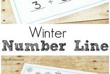 numberline sums