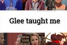 glee taught me