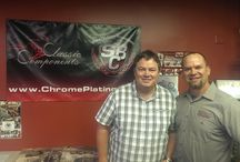 Wheeler Dealers / Mike from the hit show Wheeler Dealers came in to visit with us today!  Great guy!