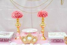 Princess baby shower