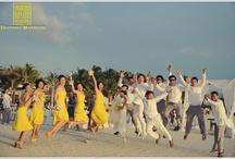 The Wedding Jump Shot / A fun wedding is never without a jump shot.
