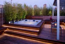 Above Ground hot tub ideas