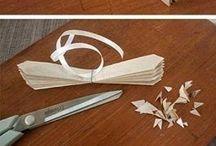 buquês de papel
