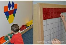 Magnetic Activity Wall for Kids