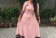 Long style gown / Not so heavy and looks simple and decent..!!!