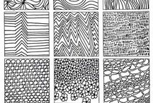 Tekstur teikning