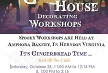 Amphora Bakery Workshops / Workshops are held at out Herndon Bakery location. Good for birthday parties, team building and family gathering