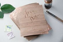 Wedding save the date and invites