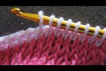 Tunisino crochet
