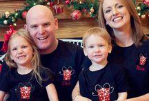 GreatStitch Christmas PJs / Christmas Eve pictures Family pictures Christmas PJs Pajamas Jammies