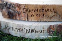 rustic wedding ideas / by Mom Robin