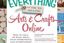 Selling Arts and Crafts Online / Pins from the book!