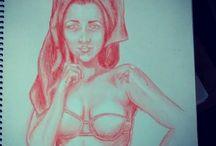 Desenhos meus
