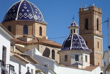 Our Altea Yoga Holidays / See holiday details at www.yogabreaks.org.uk