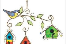 Stained Glass - Birdhouses