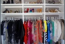 3. Interior Design - organized closet ideas / by Misha Kmps