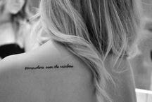 tattoos / by Alicia Bravo