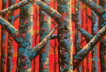 My Art: Original Paintings in Acrylic / Welcome to my gallery. Here are some original paintings I have done. I have always loved abstract, colourful paintings and the texture of heavy body acrylic. All the paintings here are acrylic on canvas. Please feel free to re-pin - I love to share inspiration. Thanks!  Get in touch at Anna-gibbs@hotmail.com if you have any questions.