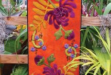 Wool Applique / Wool applique designs for crafting and home decor