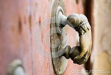Beautiful art sculpture door handle