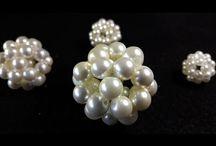 sfera perle per natale
