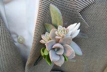 Succulent buttonholes