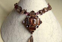 Necklace displays -
