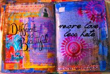 art journals / by Darlene Terpening
