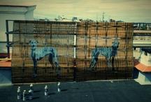 Outdoor Street Art / arte urbano, street art, stencil, graffiti...