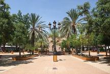 Plazas, parques y jardines de Torrevieja