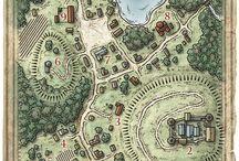 Ravenloft Villages, towns