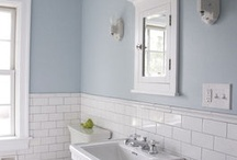 Bathroom: paint+tile