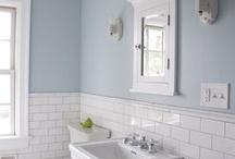Bathroom: paint+tile