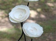 Seramik çiçeklerim